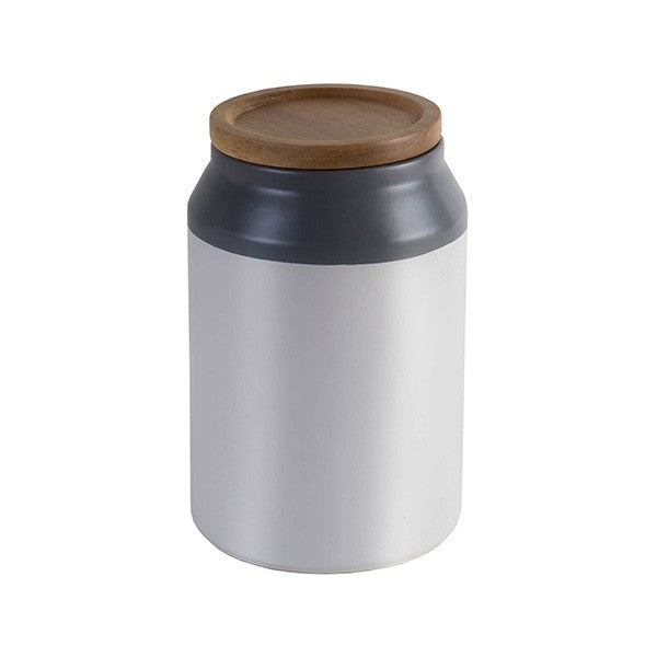 Jamie Oliver Ceramic Storage Jar, Grey Medium