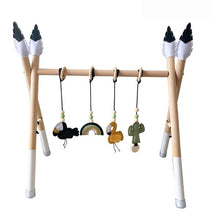 Load image into Gallery viewer, Nordic Style Baby Gym Play Nursery Sensory Ring-pull