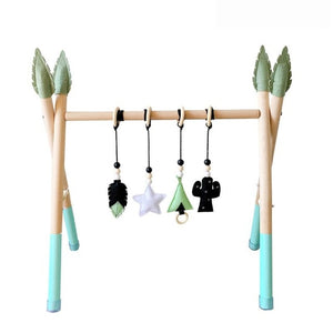 Nordic Style Baby Gym Play Nursery Sensory Ring-pull