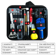 Load image into Gallery viewer, 147pcs Watch Repair tool Kit