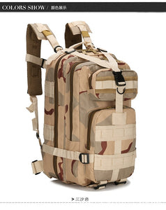 Outdoor Waterproof Tactical backpack