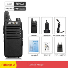 Load image into Gallery viewer, RT622 Walkie Talkie