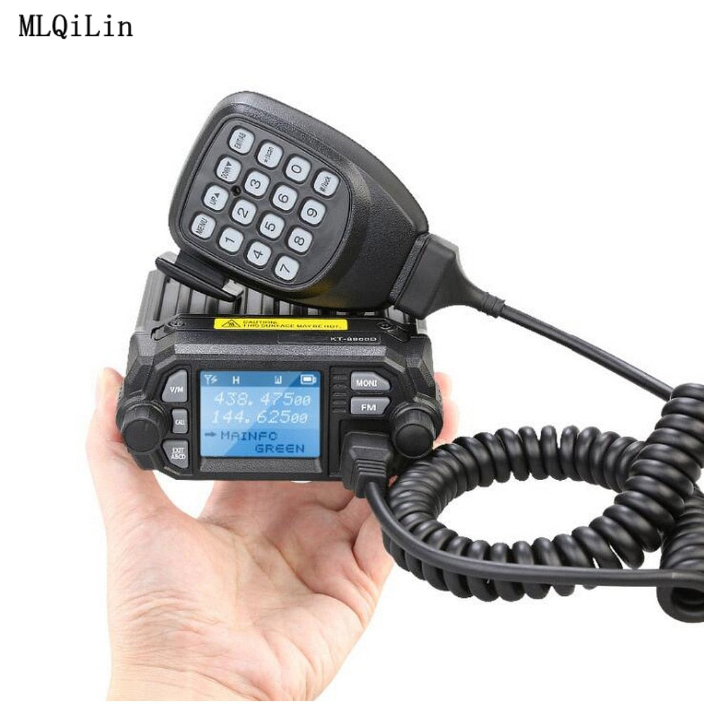 8900D VHF UHF Mobile Radio Dual Band Car Radio