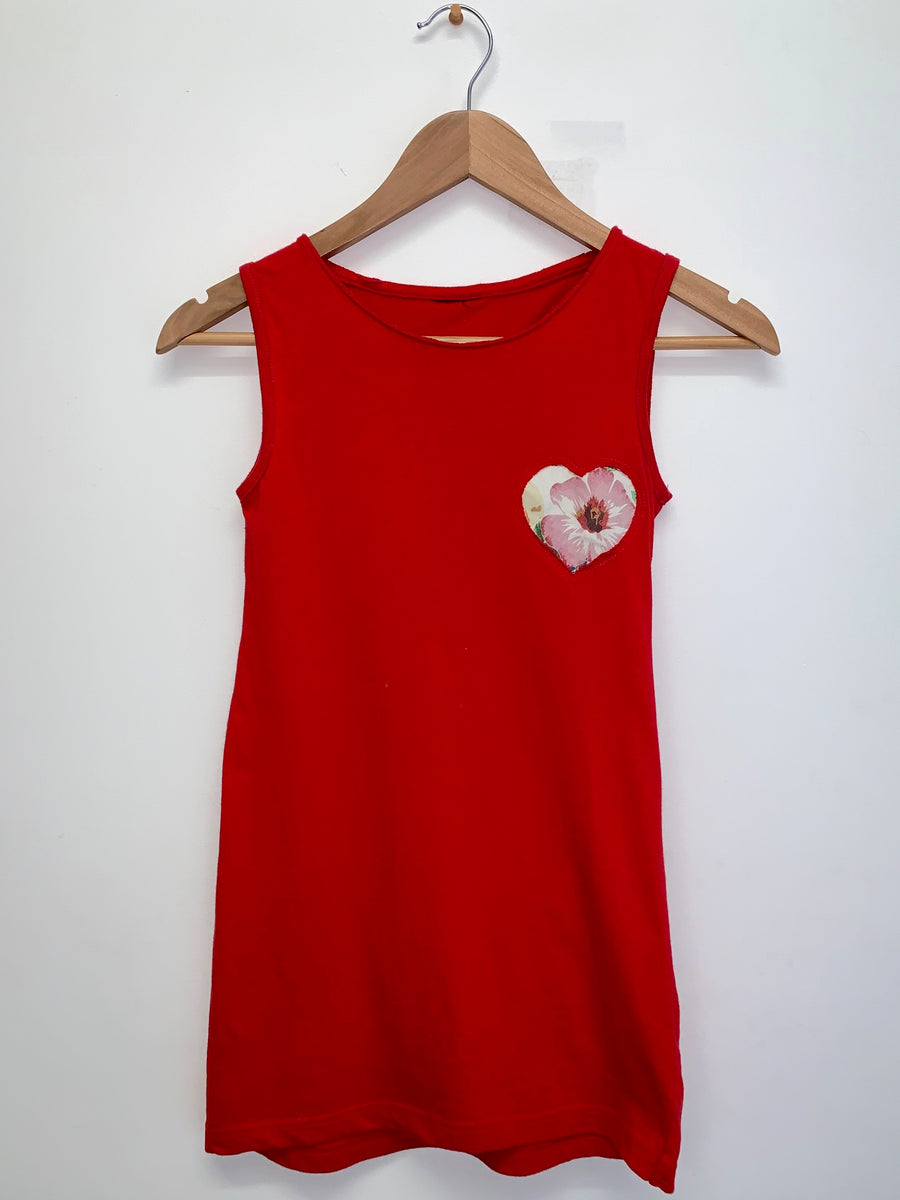 green at heart dress |size 9 sample