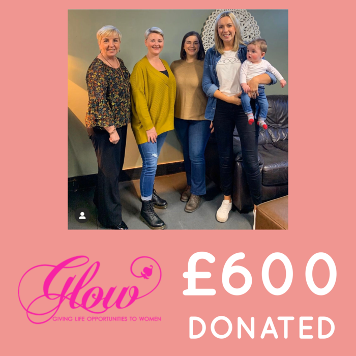Second Donation to Glow NI!