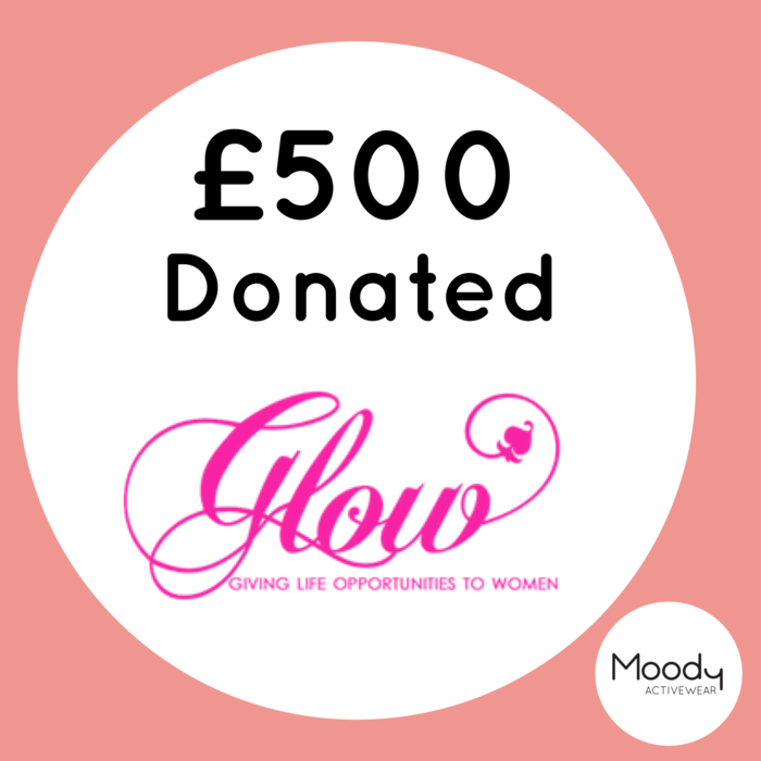 £500 Donation to Glow NI!