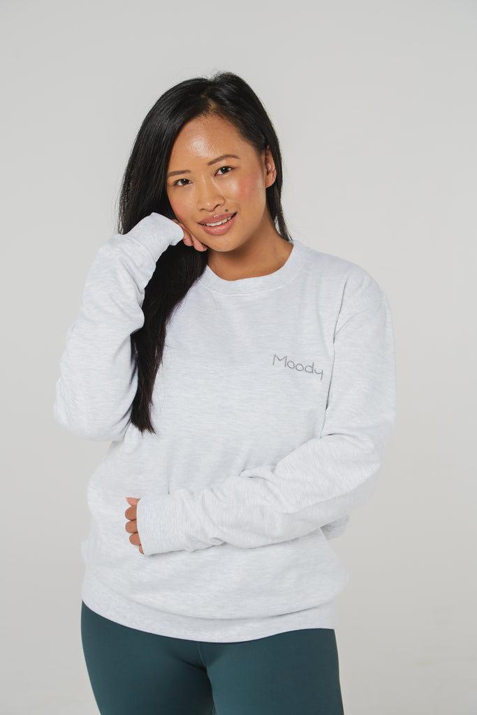 Moody Sweatshirt - Grey