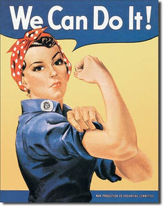 Rosie The Riveter - Tin Sign