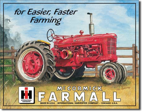 Farmall 'M' - Tin Sign