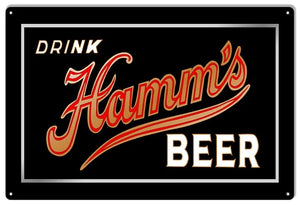 Hamm's Beer - Tin Sign