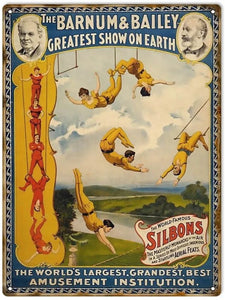 Barnum & Bailey Circus - Tin Sign