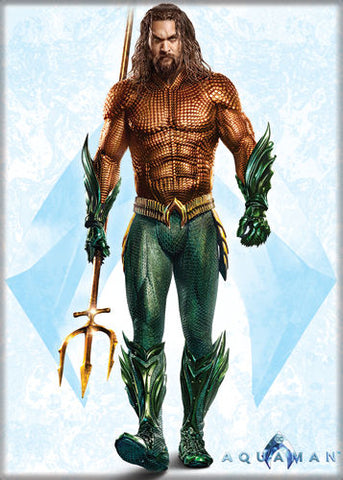 Aquaman - Full Body - Magnet