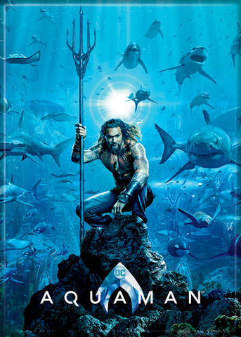 Aquaman - Movie Poster - Magnet