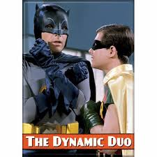 Batman TV - Dynamic Duo - Magnet