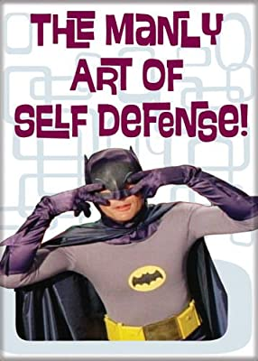 Batman - Manly Art of Self Defense - Magnet