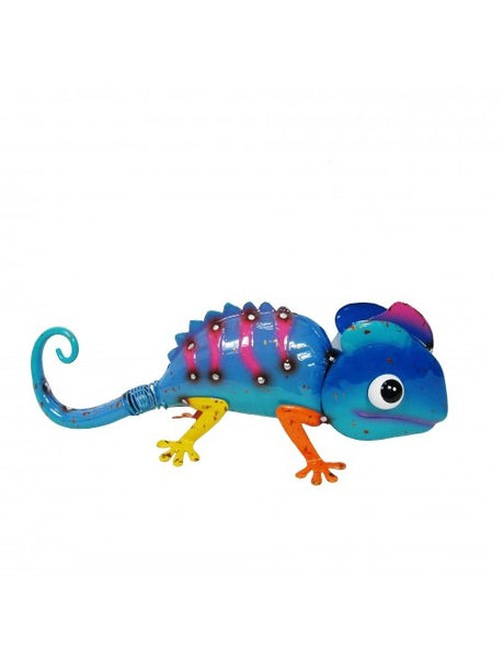 Chameleon (Blue) - Scrap Metal Figure