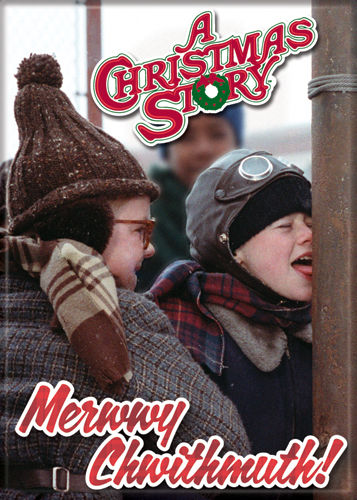 Christmas Story - Merwwy Chwithmuth! - Magnet