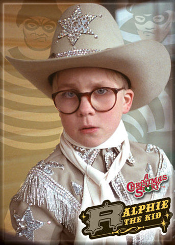 Christmas Story - Ralphie the Kid - Magnet
