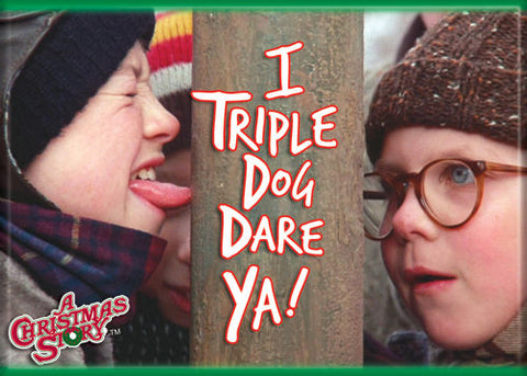 Christmas Story - Triple Dog Dare - Magnet