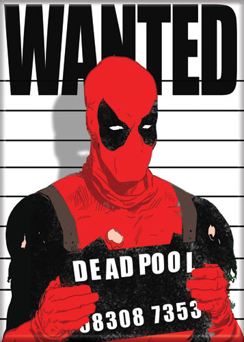Deadpool - Wanted - Magnet