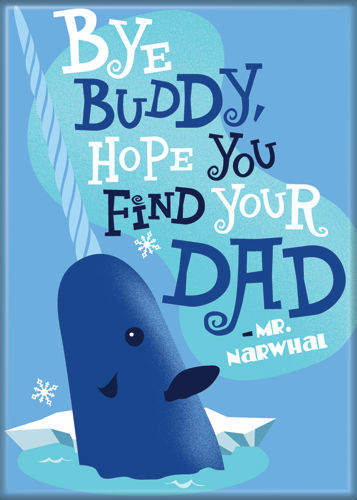 Elf - Bye Buddy - Magnet