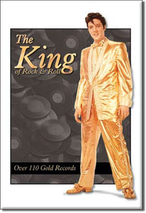 Elvis - Gold Suit - Magnet