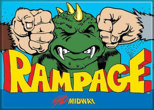 Midway Games - Rampage- Magnet