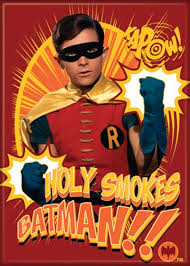 Robin - Holy Smokes Batman - Magnet