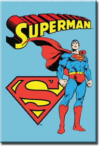 Superman - Retro - Magnet