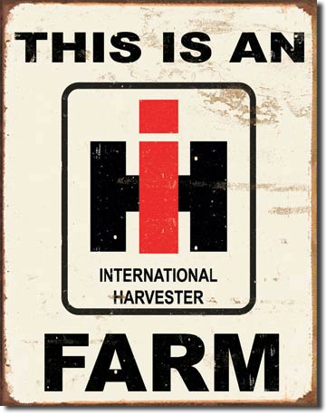 International Harvester - IH Farm - Magnet