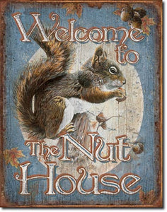 Welcome To The Nut House - Magnet