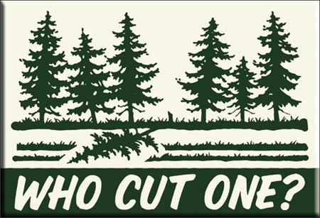 Who Cut One? - Magnet