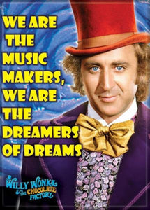 Willy Wonka - Music Makers - Magnet