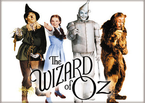 Wizard of Oz - Cast Pointing - Magnet