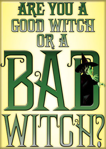 Wizard of Oz - Good Witch or Bad Witch - Magnet