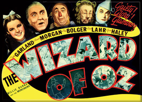Wizard of Oz - Movie Poster - Magnet