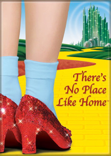 Wizard of Oz - No Place Like Home - Magnet