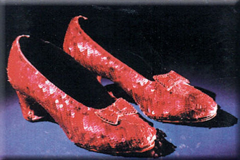 Wizard of Oz - Ruby Slippers - Magnet