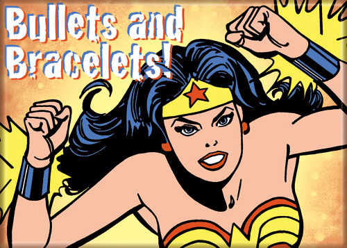 Wonder Woman - Bullets & Bracelets - Magnet