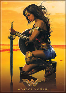 Wonder Woman - WW Kneeling - Magnet
