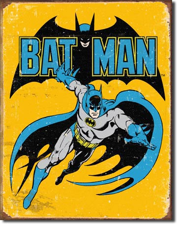 Batman Retro - Tin Sign