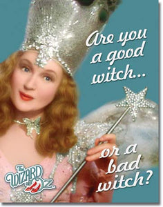 Wizard of Oz - Good Witch - Tin Sign