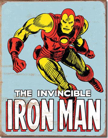 Ironman Retro - Tin Sign
