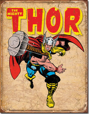 Thor Retro - Tin Sign