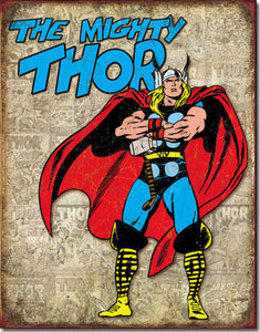 Thor Retro Panels - Tin Sign