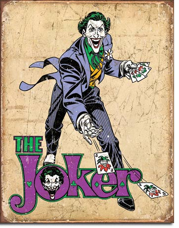 The Joker - Tin Sign