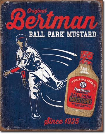 Bertman Mustard - Tin Sign