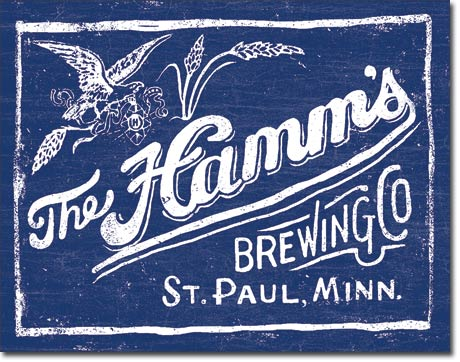 Hamms Beer - Americas Favorite; Tin Sign