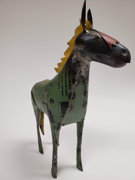 Horse - Scrap Metal Figurine