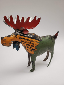 Moose - Scrap Metal Figurine